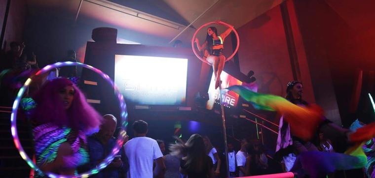 Performance for Spire Nightclub Pride Festival